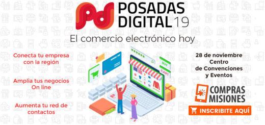 Posadas Digital 19: el mayor evento de comercio electrónico de la región llegará en pocos días…Inscribite aquí por Internet