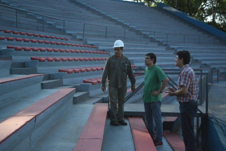 Losada: «Hicimos una importante inversión para dejar en óptimas condiciones el Anfiteatro Manuel Antonio Ramírez»