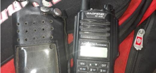 Jardín América: un joven llevaba una radio portátil acoplada a la frecuencia policial