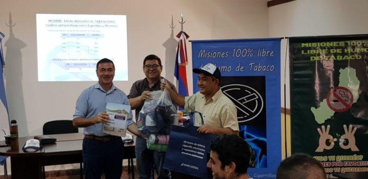 Misiones se posiciona como ejemplo a nivel nacional al fortalecer sus consultorios de cesación tabáquica