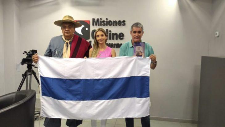 Historiador salteño afirma que la blanquiceleste no es la primera bandera de la Argentina