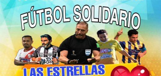Pitana y estrellas locales del fútbol se dan cita en un partido a beneficio de un jovencito posadeño con leucemia