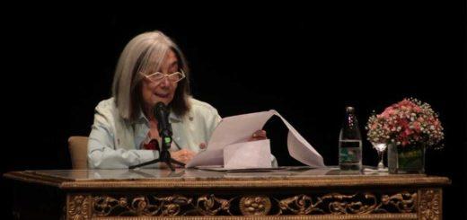 En el año del 120 aniversario del nacimiento de Jorge Luis Borges, María Kodama disertó en Posadas