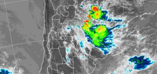 Fuertes lluvias y tormentas afectan al Sur y Centro de Misiones