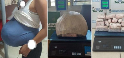 Mendoza: fingía un embarazo con un falso vientre pero cayó con 4 kilos de marihuana