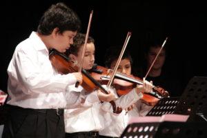 Este jueves presentan un concierto de cuerdas con jóvenes músicos en el Teatro de Prosa