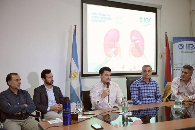 El IPS brindó charla para concientizar sobre el trasplante de órganos