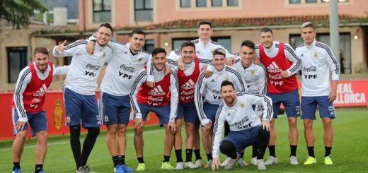Con el regreso de Messi y Agüero, la Selección se prepara para enfrentar a Brasil en Arabia Saudita