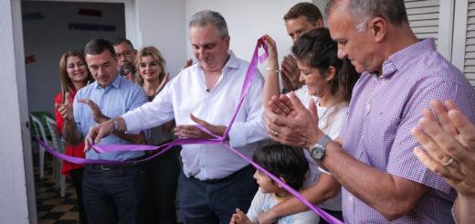 Passalacqua participó de la apertura del primer centro gratuito de contención para niños prematuros en Posadas