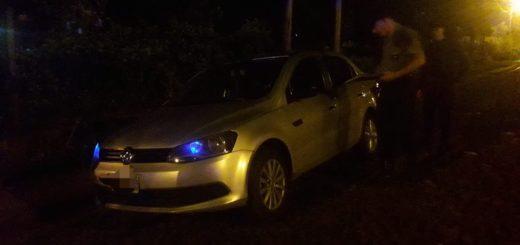 Campo Viera: mediante un gran despliegue policial, recuperaron un automóvil robado a un remisero