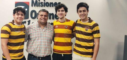 """Rugby: juveniles del Tacurú volvieron a salir campeones de todo lo que jugaron, """"el secreto es el grupo que se formó"""""""