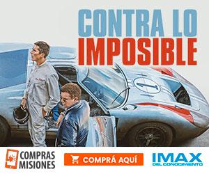 Contra lo imposible: máxima velocidad en el IMAX…Las entradas las comprás aquí por Internet