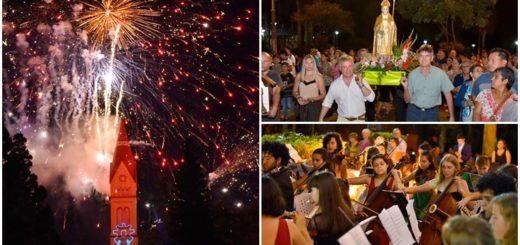 Puerto Rico recibió su Centenario con un espectáculo de mapping, música y fuegos artificiales