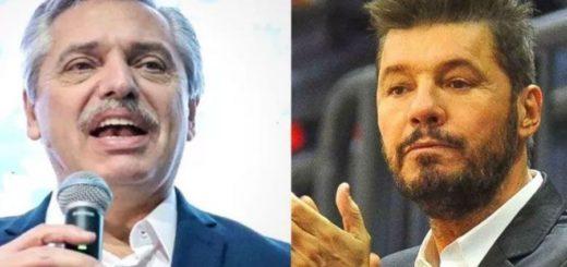 Alberto Fernández y Tinelli se reúnen para delinear acciones del programa contra el hambre