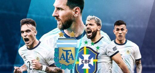 Argentina aprovechó un penal y gana 1-0 ante Brasil en Arabia Saudita