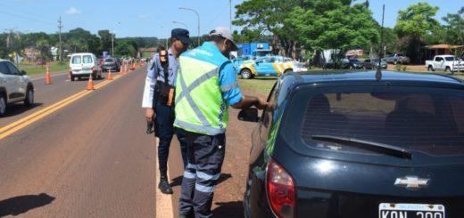Comenzaron los operativos viales conjuntos entre la Policía y la ANSV en las rutas de Misiones