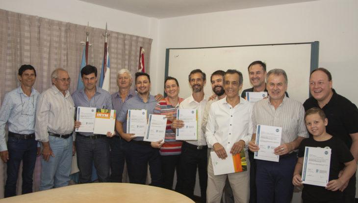 El INYM e IRAM otorgaron la certificación en BPM a seis secaderos y un molino