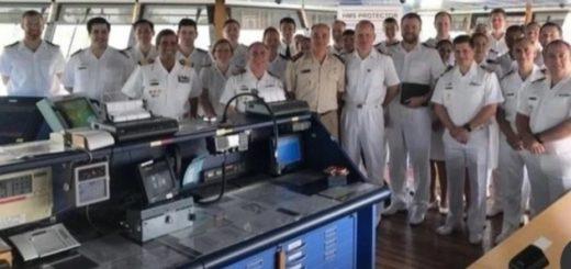 El sorpresivo homenaje de submarinistas ingleses a los tripulantes del ARA San Juan