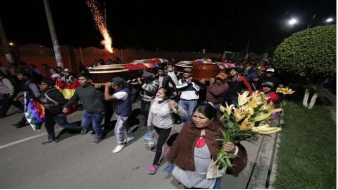 Crisis en Bolivia: ascienden a ocho los muertos por la represión en marcha a favor de Evo Morales