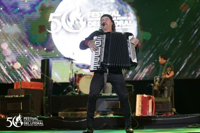 Tostão Mineiro recargó de energías el Festival Nacional de la Música del Litoral