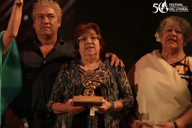 Alcibíades Alarcón: el Mensú de Oro del Festival Nacional de la Música del Litoral