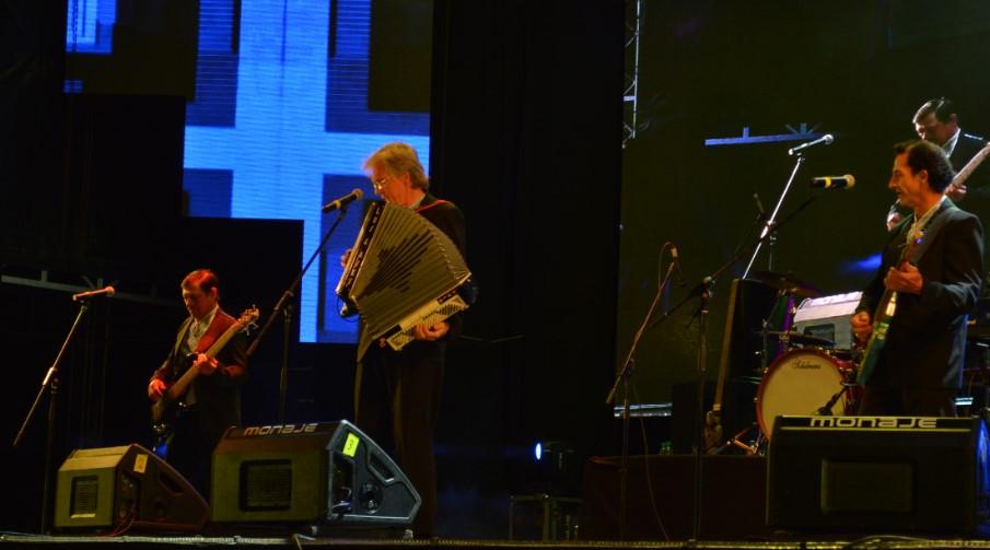 #FestivalDelLitoral: Rulo Grabovieski y Los 4 Ases se lucieron con las mejores kolomeikas y corridos