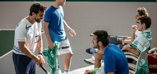 Argentina se mide ante Chile en el inicio de la Copa Davis