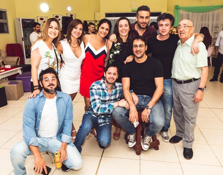 Ex alumnos de la promoción ´99 de la Escuela Normal Mixta Estados Unidos del Brasil celebraron 20 años de egresados