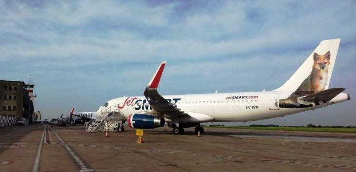 JetSMART amplía su flota de aviones en Argentina