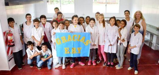 Yacyretá entregó obra de ampliación de la Escuela N°484