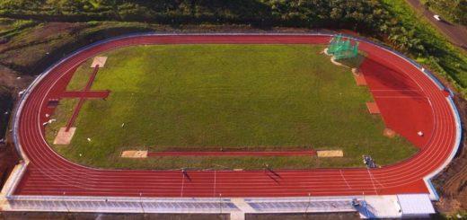 Este viernes a la tarde se inaugurará la pista de atletismo del CePARD