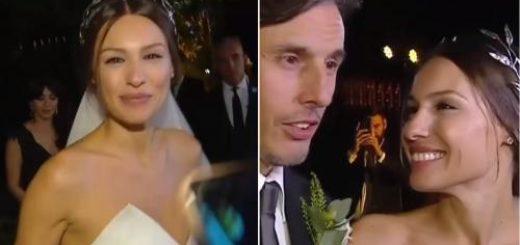 """Pampita habló tras su casamiento con Roberto García Moritán: """"Fue muy emocionante"""""""
