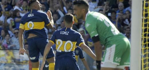 Fútbol: con goles de Wanchope y Mac Allister, Boca le ganó a Unión y quedó como único líder de la Superliga