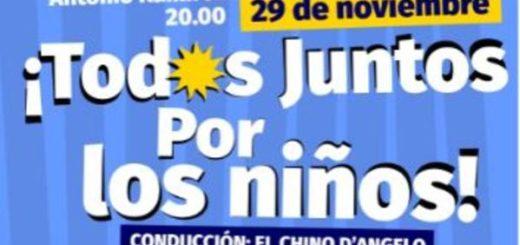"""Este viernes se realizará el festival solidario """"Todos Juntos por los niños"""" en Posadas"""