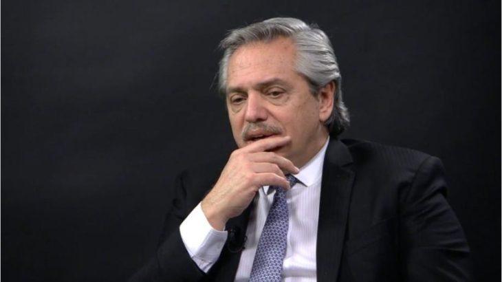 «Con el FMI voy a firmar un único acuerdo y la primera regla es dejar de pedir dinero», sostuvo Alberto Fernández