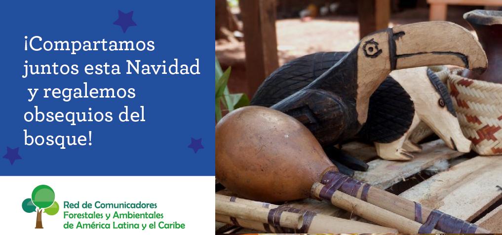 #NavidadNatural: una campaña ambiental regional que promueve la opción por árboles naturales y regalos del bosque como aporte de acción climática