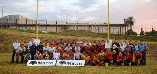 Fundación Banco Macro y Espartanos inauguraron una nueva cancha de rugby en Misiones