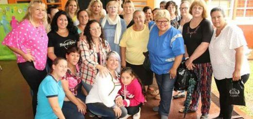 Masiva reunión de la Red de Mujeres de la Concordia en Villa Bonita