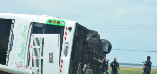 Qué dicen las primeras pericias sobre cómo ocurrió el accidente del micro en la Ruta 2