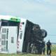 Tragedia en la ruta 2: niegan que el colectivo superara los 100 km/h al momento del accidente