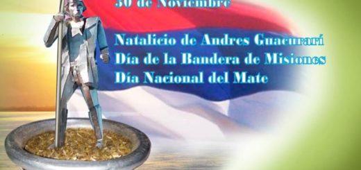 Celebramos el Día de la Bandera de Misiones recordando el natalicio de Andresito Guacurarí y su figura