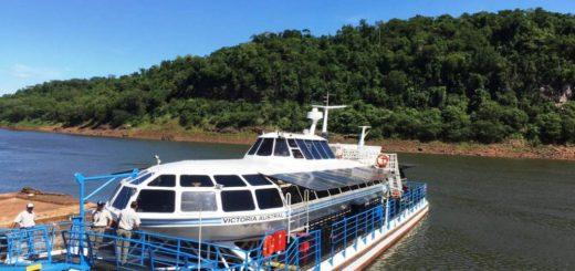Iguazú: amantes de Harley Davidson eligieron el Catamarán de Iguazú para disfrutar de la región