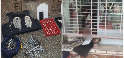 La Policía detuvo in fraganti a un ladrón dentro de una joyería del microcentro posadeño