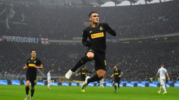 Intratable: los goles de Lautaro Martínez en el triunfo del Inter frente al SPAL