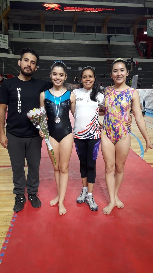 Gimnastas misioneras participaron del Torneo Nacional Federativo en San Juan