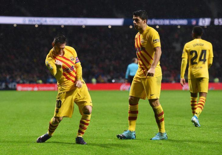 De la mano de Messi, Barcelona venció a Atlético Madrid