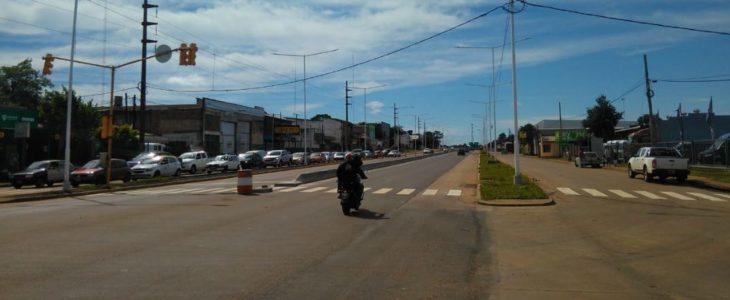 Para terminar obras cerrarán el tránsito por la travesía urbana de la ruta 12