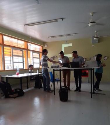 Secundaria de Innovación: estudiantes presentaron proyectos para concientizar sobre adicciones