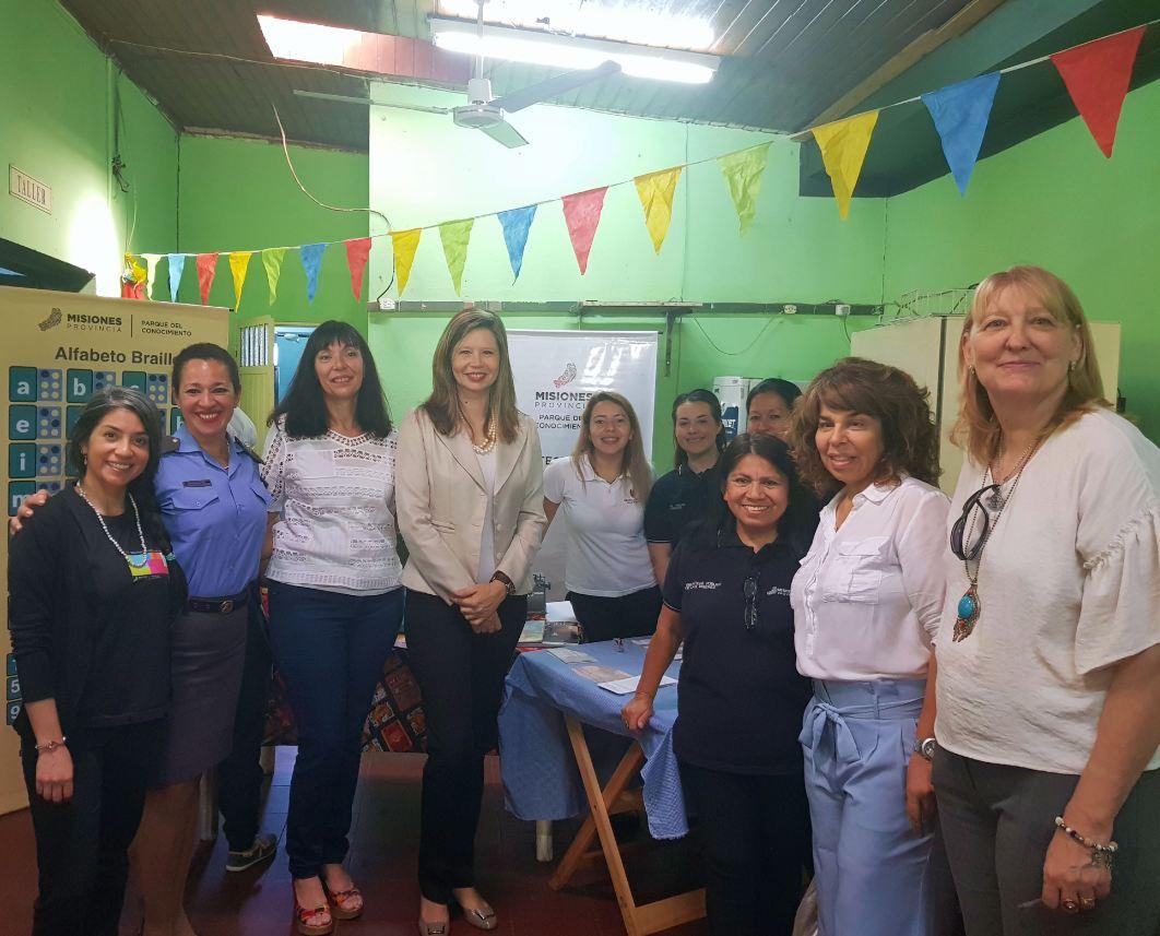 Primer aniversario de la Sede de la Biblioteca Pública en el Penal 5 de Mujeres