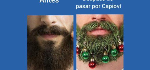 El espíritu navideño de Capioví hizo estallar los memes en las redes sociales